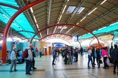 Estación de tren en Utrecht fotografía de archivo