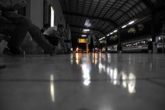 Estación de tren en Zagreb, Croacia Foto de archivo