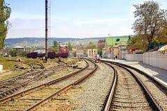 Estación de tren Feodosia Imagenes de archivo