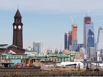 Estación de tren de Hoboken Imagenes de archivo