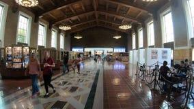 Estación de tren de la unión Los Angeles almacen de video