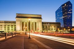 Estación de tren Philadelphia foto de archivo libre de regalías