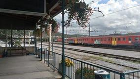 Estación de tren Sezena imagen de archivo