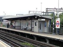 Estación de tren suburbana del carril nacional de la estación del parque de Stonebridge foto de archivo libre de regalías