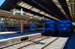 Estación de tren, Temuco, Chile Imagenes de archivo