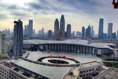 Estación de tren de Tianjin foto de archivo