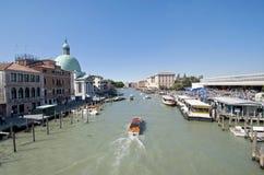 Estación de Venecia Ferrovia Foto de archivo libre de regalías