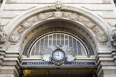 Estación de Waterloo Foto de archivo libre de regalías