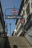 Estación de Westminster Imagen de archivo