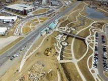 Estación de Westminster en Denver Colorado Imágenes de archivo libres de regalías