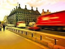 Estación de Westminster en Londres foto de archivo