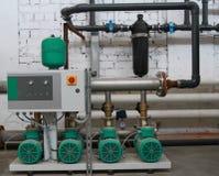 Estación del abastecimiento de agua Imagen de archivo libre de regalías