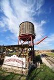 Estación del agua del ferrocarril Fotos de archivo libres de regalías
