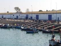 Estación del barco de pesca imagen de archivo libre de regalías