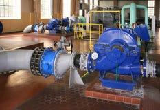 Estación del bombeo de agua Imágenes de archivo libres de regalías