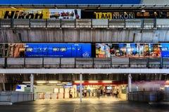 Estación del BTS Tailandia Foto de archivo libre de regalías