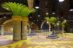 Estación del bulevar de Hollywood del metro de Los Ángeles imágenes de archivo libres de regalías