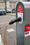 Estación del coche eléctrico Imagen de archivo libre de regalías