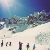Estación del esquí Imagen de archivo