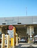 Estación del examen de la frontera de los E.E.U.U. Imagenes de archivo