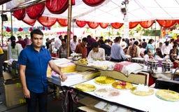 Estación del festival - corte de alimento Fotos de archivo libres de regalías