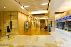 Estación del metro Imagenes de archivo