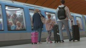 """Estación del metro de Alemania - Munich 23 de junio de 2018 del †"""""""