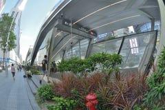 Estación del metro de China Shenzhen Foto de archivo libre de regalías