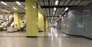 Estación del metro de Hong Kong foto de archivo libre de regalías