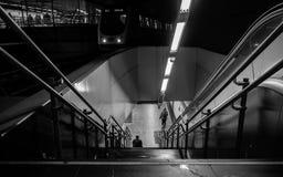 Estación del metro en Madrid Imágenes de archivo libres de regalías