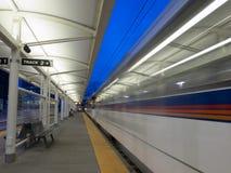 Estación del metro ligero Imagen de archivo libre de regalías