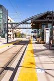 Estación del metro ligero Imagen de archivo
