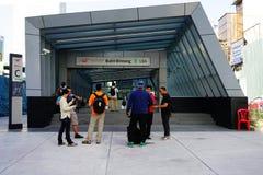 Estación del MRT Bukit Bintang Fotografía de archivo libre de regalías