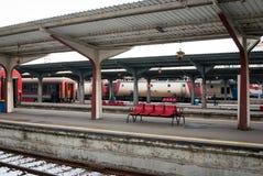 Estación del norte de Bucarest Imagen de archivo libre de regalías
