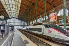 Estación del norte de Gare du Nord París imágenes de archivo libres de regalías