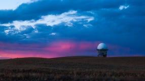 Estación del observatorio Fotografía de archivo