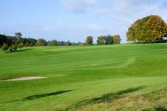 Estación del otoño en campo de golf Fotografía de archivo