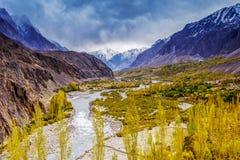 Estación del otoño en Paquistán foto de archivo libre de regalías