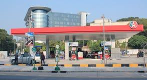 Estación del petróleo de Caltex Imagen de archivo