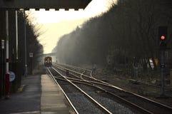 Estación del puente de Hebden Foto de archivo