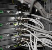 Estación del servidor Foto de archivo