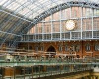 Estación del St. Pancras imagen de archivo libre de regalías