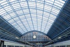 Estación del St Pancras Imagen de archivo