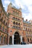 Estación del St Pancras Imagenes de archivo