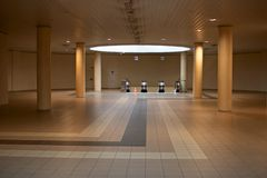 Estación del subterráneo   Fotos de archivo