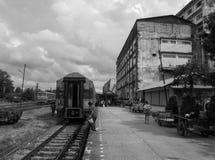 Estación del thammarat del sri de Nakhon fotos de archivo
