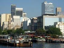 Estación del transbordador de Río Foto de archivo libre de regalías