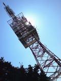 Estación del transmisor Fotografía de archivo