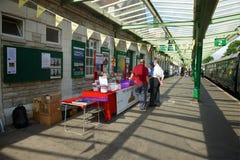 Estación Dorset ferroviaria Reino Unido de Swanage fotos de archivo libres de regalías