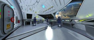 Estación espacial imagen de archivo